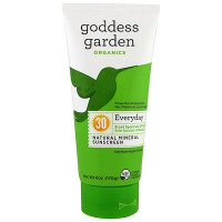 Goddess Garden Goddess Garden, Organics, Everyday Natural Mineral Sunscreen, SPF 30, 6 oz (170 g)